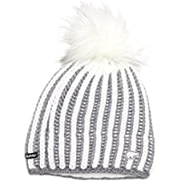 Eisbär Tabea Lux Mü Cappello da Sci, Grigio/Bianco, Taglia