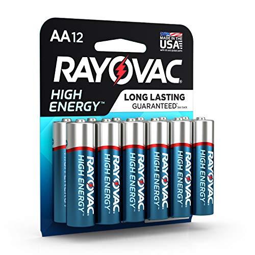 RAYOVAC AA Alkalibatterien 815-12K, hohe Energie, 12 Stück 12 Pack Aa Alkaline-batterien