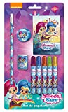 Shimmer and Shine Stationery Set 9Pieces (CYP Imports gs-408-ss)