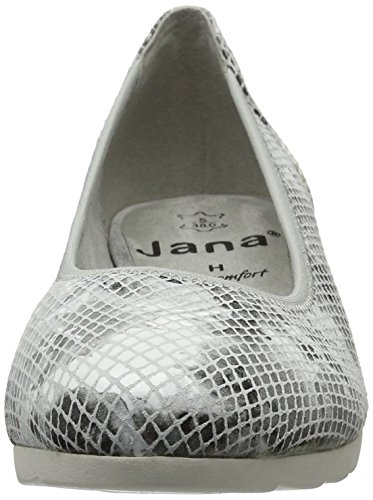 Jana 22204, Escarpins Femme Gris (Lt. Grey 204)