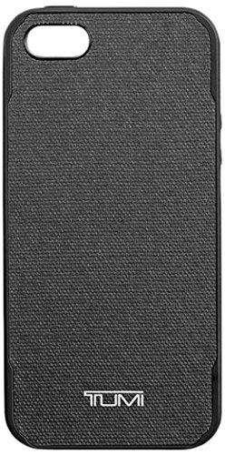 Preisvergleich Produktbild Incipio TUIPH-015-CCGRY Tumi Coated Canvas Co-Mold Schutzhülle für Apple iPhone SE / iPhone 5S / iPhone 5,  10, 16 cm (4 Zoll) schwarz