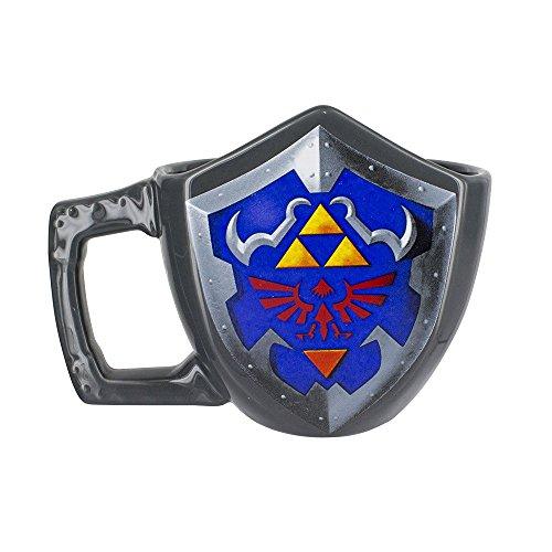 Zelda - Schild - Tasse - Füllmenge 400 ml | Offizielles Merchandise von Nintendo