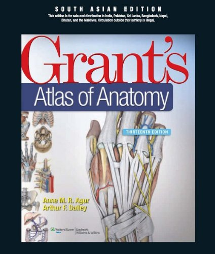 Grant's Atlas of Anatomy, 13th Edition [Paperback]