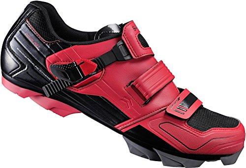 Shimano - Zapatillas de ciclismo para hombre Rojo rojo