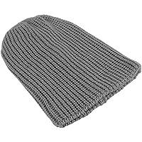 Formulaone Los Hombres de Moda Slouchy de Gran tamaño de la Tapa de Invierno de Punto de esquí Comodidad Daily Beanie cráneo cálido Sombrero elástico Sombreros de Invierno LZ003