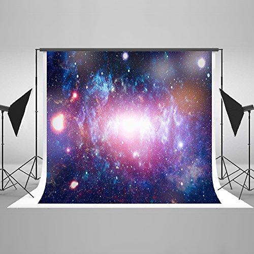 Kate 7×5ft(2.2×1.5m) Verträumter Sternenhimmel Fotografie Hintergrund Abstraktes Universum Raum Galaxie Hintergrund für Fotografen Photo Booth Requisiten Hintergrund