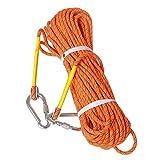 Corde utilitaire de sécurité Luoov 10m 20m 30m 50m corde d'escalade,...