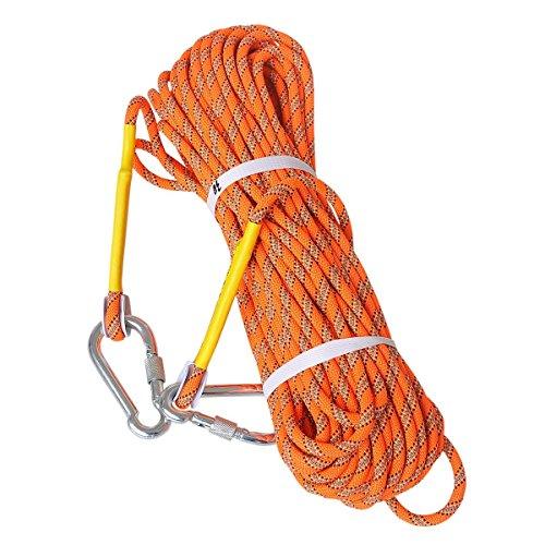 Luoov 10m (32ft) 20m (64ft) 30m (98ft) 50m (160ft) sicuro utility corda, roccia corda, corda statica, corda diametro