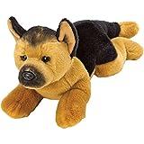 Best Selling Soft Plush Stuffed Cuddly Animal SB© toy - Medium Resting German Dog - Perfect Companion Gift / Present for Women, Ladies