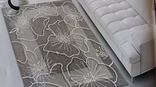 tappeto-spring-colore-grigio-fiore-bianco-salotto-living-camera-misura-cm-140x195-in-ciniglia-con-so