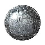 Giantree Münzsammeln, American Silver Eagle Dollar Unzirkulierte US-Münze, der wirtschaftliche Schutz des Jahres 1908