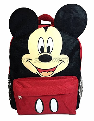 Disney Mickey Mouse Ear 12 Mini Backpack for Kids Back to School Bag - by Disney