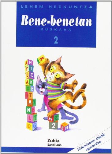 Hezkuntza Bene Benetan 2 Leh Eusk Zubi - 9788481474282