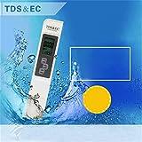 Queta alta qualità dell' acqua tester precisione termometro misuratore TDS EC Meter 3-in-1Portable Digital test Pen