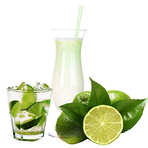 Caipirinha Limette Geschmack Eiweißpulver Milch Proteinpulver Whey Protein Eiweiß L-Carnitin angereichert Eiweißkonzentrat für Proteinshakes Eiweißshakes Aspartamfrei (1 kg)