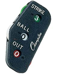 Champion Sports 3 Wheel Standard Optic Yellow Umpire Indicator - PI