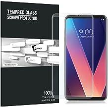 LG V30 proteggi schermo, AVIDET copertura Schermo intero, Premium vetro temperato 3D Screen Protector per LG V30 (9H durezza 0.3mm) (Trasparente)
