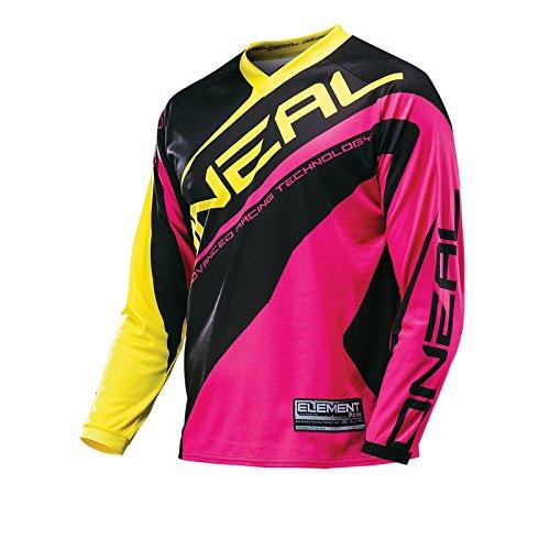 O'Neal Element MX Damen Jersey RACEWEAR Pink Lady Motocross Enduro Downhill Motorrad Shirt DH, 0024W-71, Größe 2XL -