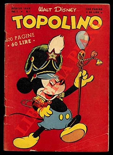 Topolino libretto. N. 1.