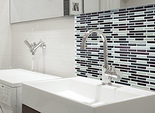 Fancy effetto mosaico 28 29 x 23 49 cm adesivi per piastrelle da