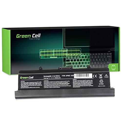 Green Cell® Extended Serie Laptop Akku für Dell Inspiron 1526 (9 Zellen 6600mAh 11.1V Schwarz) (Serien 1526 Inspiron Laptop)