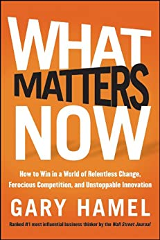 What Matters Now: How to Win in a World of Relentless Change, Ferocious Competition, and Unstoppable Innovation von [Hamel, Gary]