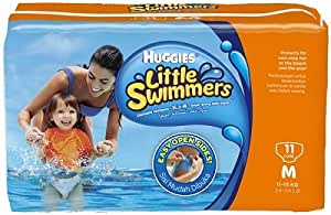 "Huggies little swimmers Les couches de bain ""Little Swimmers®""., taille M"