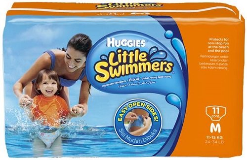 Windeln Little Swimmers Größe 5 (11 - 18 kg) - 11er Pack