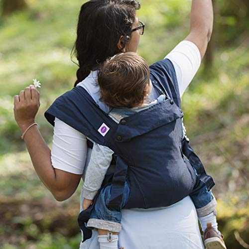 Izmi Baby Carrier (3.2kg-15kg), New Born Carrier, Multiple Carrying Positions, Midnight Blue  Izmi
