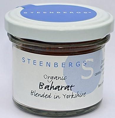 Organic Baharat Arabic Spice Blend Standard 48g from Steenbergs