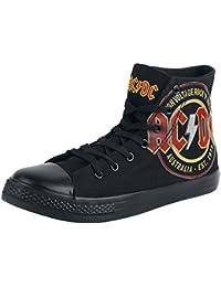 AC/DC High Voltage Basquettes noir