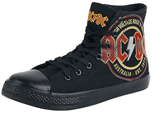AC/DC High Voltage Sneaker schwarz EU40 (Gogo Stiefel Für Kinder)