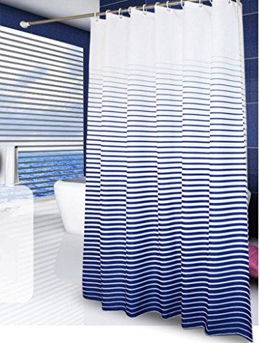 GYMNLJY Minimalista moderna tenda doccia impermeabile striscia addensare doccia tende