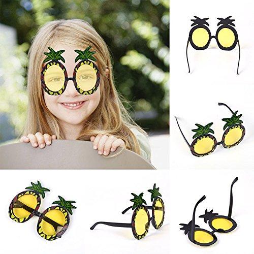 Ananas Sonnenbrille hawaiisch Party Neuheit Versorgung Gläser Dekor