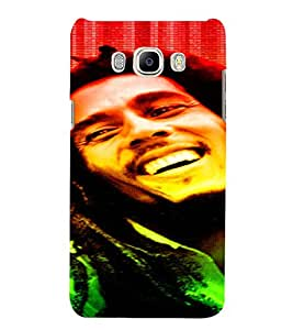 PrintVisa Bob Marley Colour Tone Design 3D Hard Polycarbonate Designer Back Case Cover for Samsung Galaxy J5