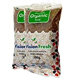 Vision Fresh Organic Cumin Seed (Whole Jeera) - 400 grm - Pack of 2 (200 Gram Each)