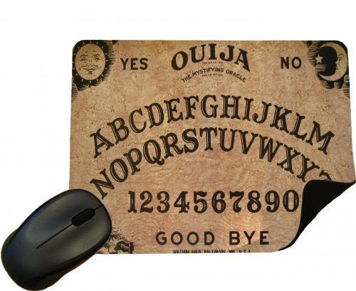 Eclipse Gift Ideas Ouija Board Mouse Mat - Set The Scene For Halloween - Mouse Pad by Eclipse Gift Ideas