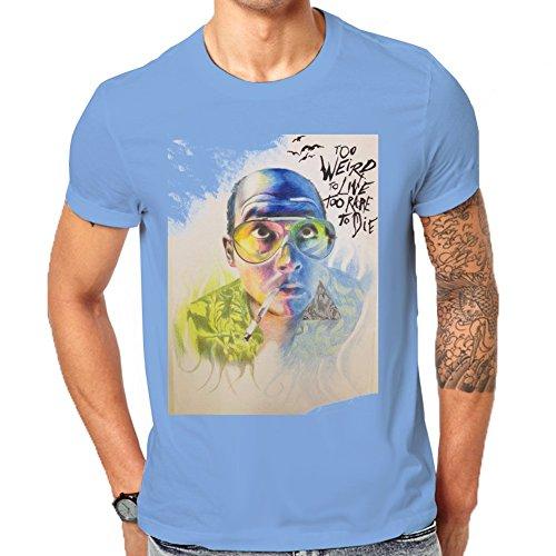 fear-and-loathing-in-las-vegas-raoul-duke-too-weird-to-live-fan-art-mens-classic-t-shirt-medium