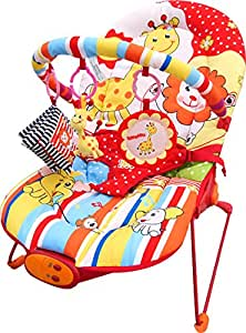 Cute Baby - Animal Paradise - Recline Vibrating & Musical Bouncer