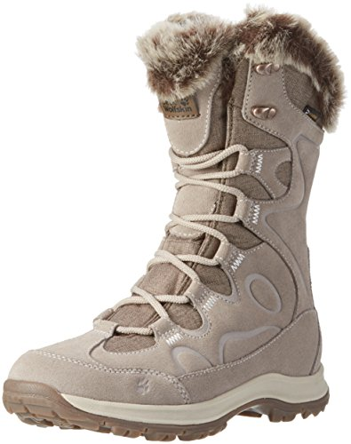 Jack Wolfskin Glacier Bay Texapore High W, Scarpe da Arrampicata Donna Beige (Moon Rock 5041)