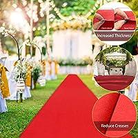 100% tout neuf Pour une utilisation intérieure et extérieure. Rendez vos invités spéciaux pendant qu'ils montent le tapis rouge. Idéal pour les soirées hollywoodiennes, les mariages, les récompenses, etc. Emballage Inclus : 1 x Tapis Rouge Épaisseur:...