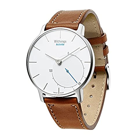 VICARA 18mm Withings Steel HR 36mm Watch Band Nokia Genuine Leather Watch Strap Wrist Replacement and Adjustable Bracelet Activites Sport Band for Withings Watch (NOT FOR Steel HR