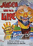 Jürgen von der Lippe - Ahlen 2002 Konzert-Poster A1