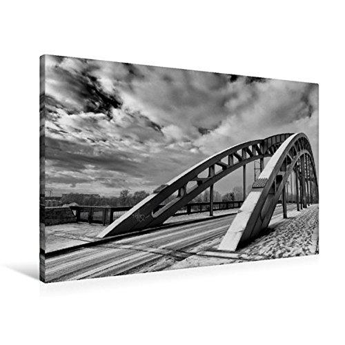 Calvendo Premium Textil-Leinwand 90 cm x 60 cm quer, Sternbrücke | Wandbild, Bild auf Keilrahmen, Fertigbild auf echter Leinwand, Leinwanddruck Orte Orte (Brücke Zu Unserer Liebe)