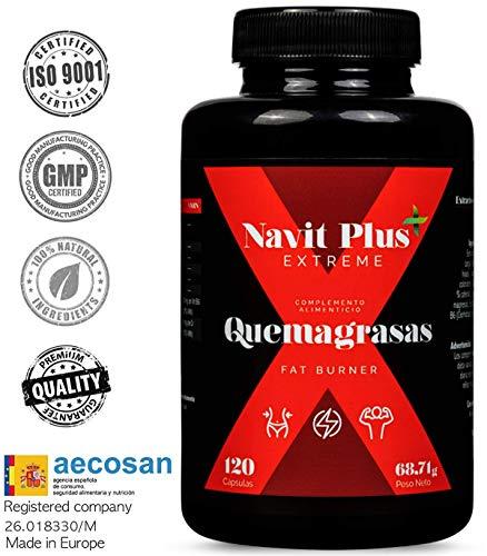 Quemagrasas potente para adelgazar.Suplemento deportivo para adelgazar Fat Burner de Navit...