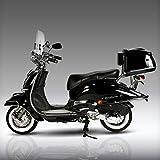 Retro Roller Artemis 50 49 schwarz Motorroller Scooter Moped Mofa