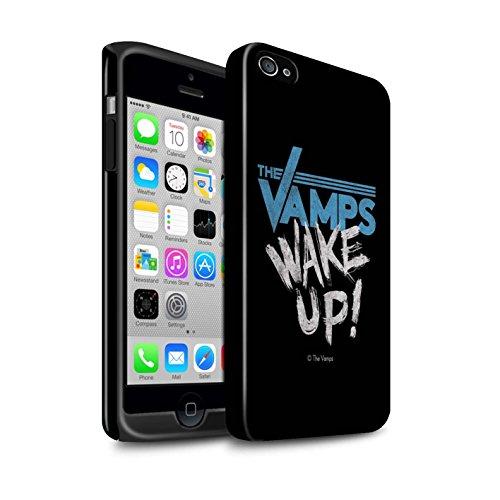 Officiel The Vamps Coque / Brillant Robuste Antichoc Etui pour Apple iPhone 4/4S / Pack 6pcs Design / The Vamps Graffiti Logo Groupe Collection Réveillez-Vous!