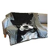 AFAHXX Interessant Dekoration Sofahusse sofaüberwurf,Decke zu werfen Quaste Verdickt Sofa Abdeckung Sofa Couch Stuhl möbel-A 160x220cm(63x87inch)