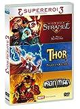 Tris Supereroi - Doctor Strange / Thor / Iron Man (3 DVD)