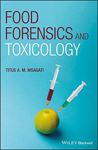 Food Forensics And Toxicology por Titus A. M. Msagati epub